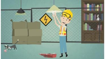 Cartoon Animation for Electrical Starplus
