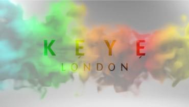 Multicoloured Smoke Keye Logo